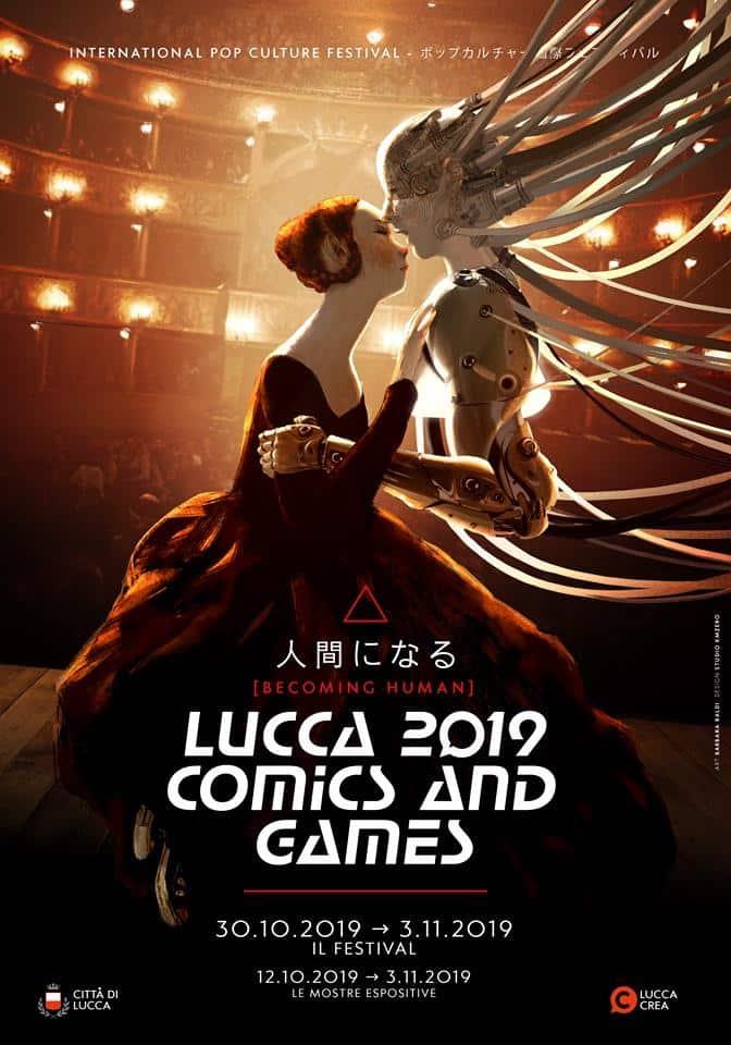 Gli annunci di Lucca Comics & Games 2019: Becoming Human_Notizie