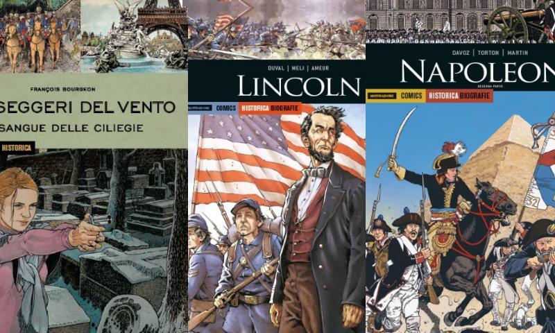 Mondadori Comics presenta le uscite di maggio e giugno per Historica