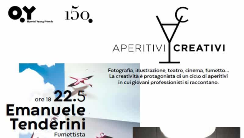 """Incontro con Emanuele Tenderini a Venezia per """"Aperitivi Creativi"""""""