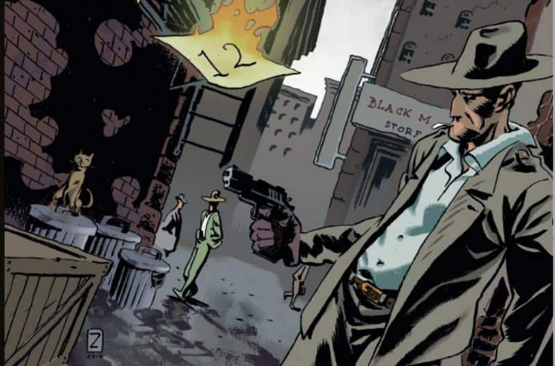 """In uscita """"L'uomo delle valigie"""", graphic novel di Marco Nucci e Lorenzo Zaghi"""