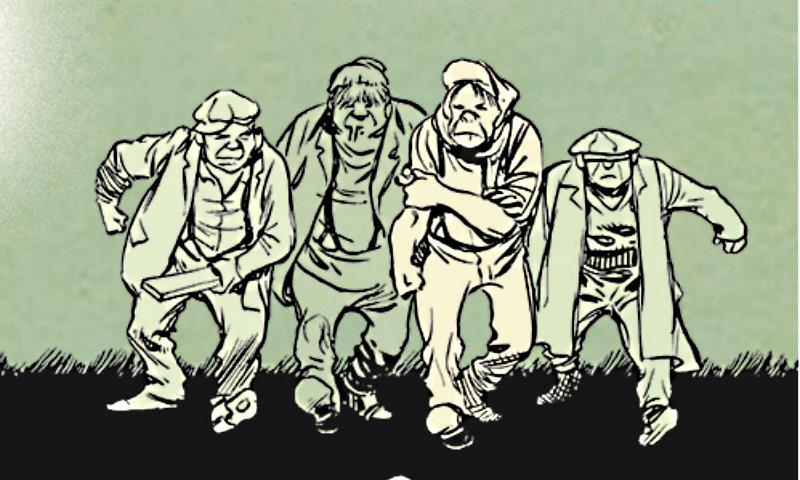 Nuova edizione per Dropsie Avenue di Will Eisner da Rizzoli Lizard