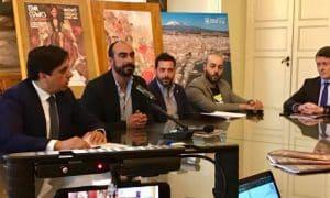 Foto 3 Presentazione Etna Comics 2019