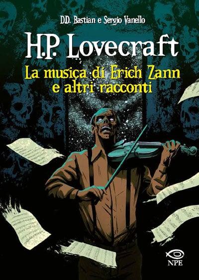 """NPE presenta """"H.P. Lovecraft – La musica di Erich Zann e altri racconti""""_Notizie"""