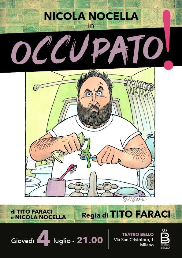 """Tito Faraci scrittore e regista per il teatro con """"Occupato!"""""""