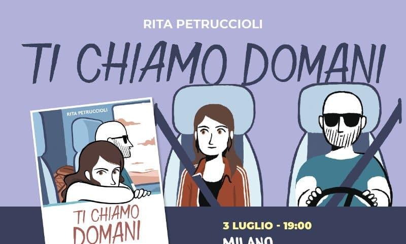 """Rita Petruccioli presenta """"Ti chiamo domani"""""""