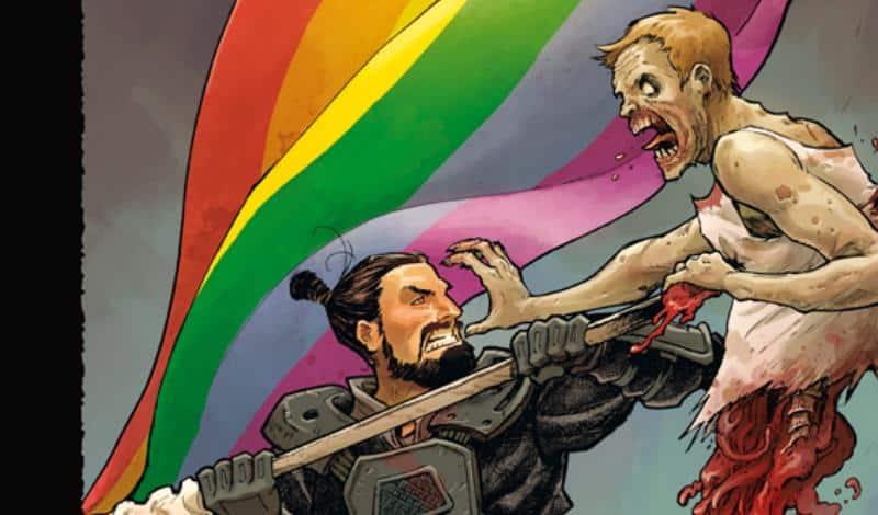"""""""The Walking Dead"""": edizione variant per sostenere le battaglie LGBTI+"""