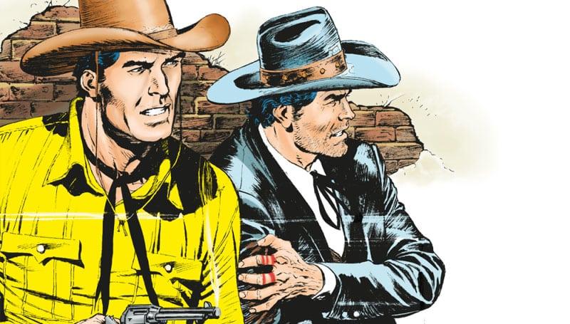 Tex #704 – Spalle al muro (Ruju, Acciarino)