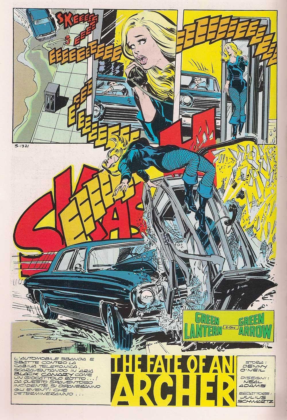 Denny O'Neil e Neal Adams - Lanterna verde e Freccia Verde Absolute Edition_Essential 300 comics
