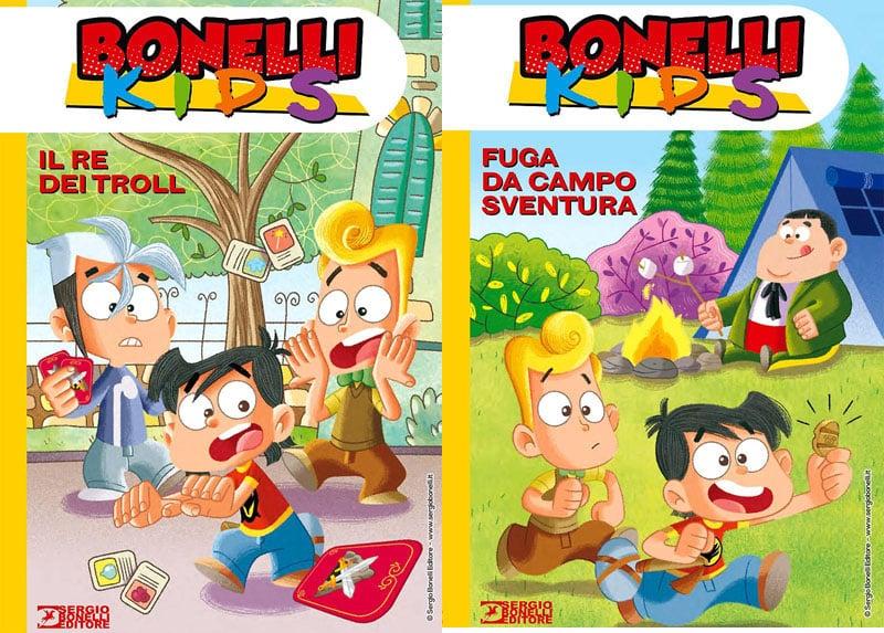 """SBE presenta due nuove avventure dei """"Bonelli Kids"""""""