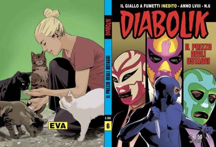 Diabolik Anno LVIII #6 (Pasini, Finocchiaro, Facciolo)