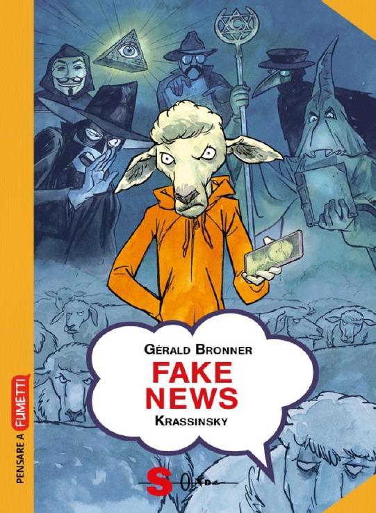 pensare a fumetti fake news copertina