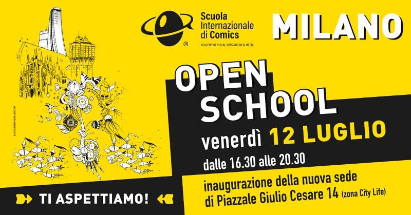 Scuola Internazionale di Comics, Milano: Open School