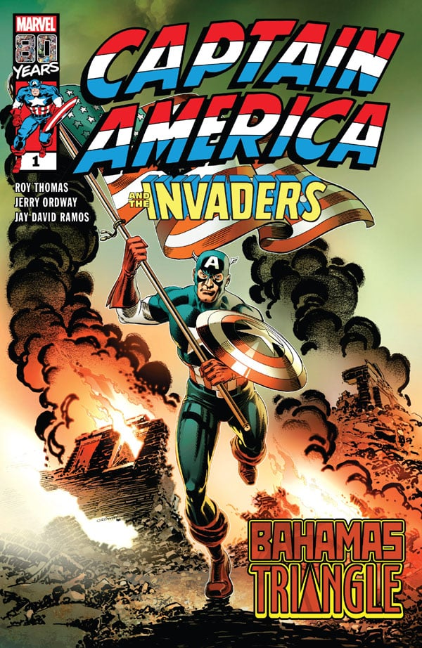 Captain America & The Invaders - The Bahamas Triangle