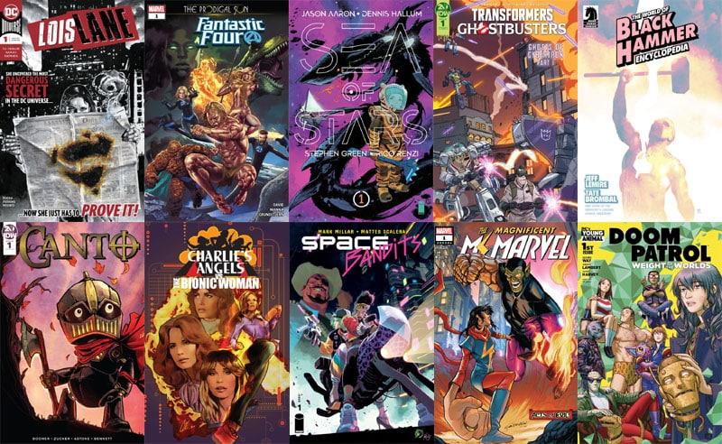 First Issue #50: il ritorno della Doom Patrol e i crossover improbabili