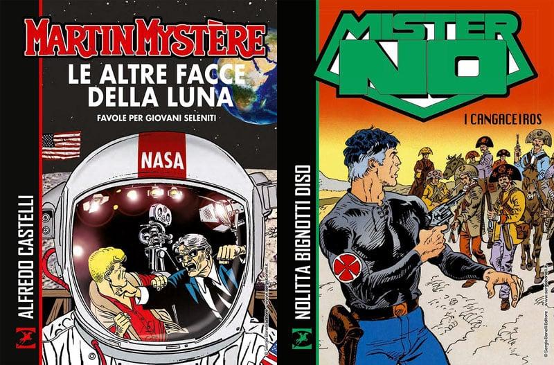 SBE porta in libreria nuovi volumi su Martin Mystére e Mister No