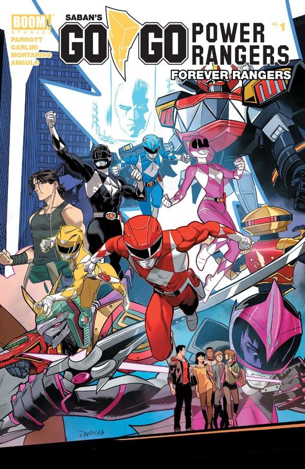Saban's Go Go Power Rangers - Forever Rangers 1