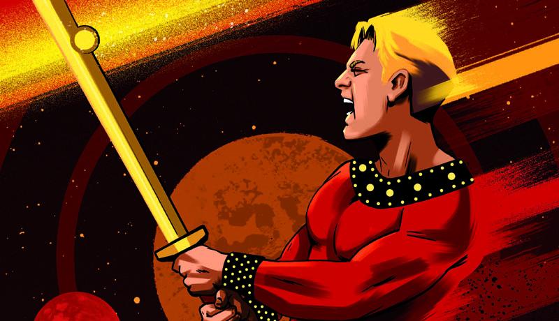NPE presenta un saggio dedicato al mondo di Flash Gordon