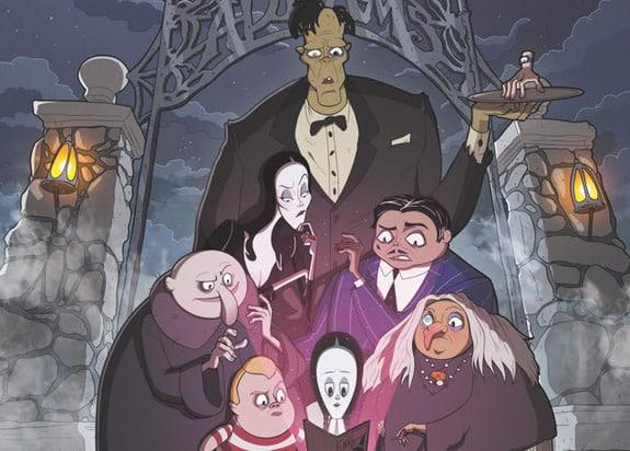 SDCC2019: IDW annuncia nuova serie a fumetti Famiglia Addams