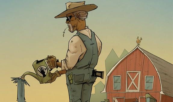 AMC porta sul piccolo schermo Farmhand di Rob Guillory