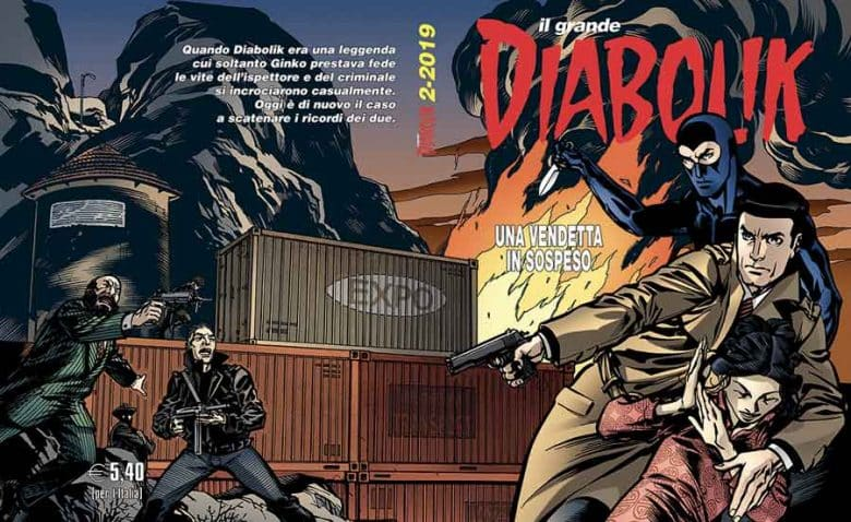 Il grande Diabolik #2-2019 (Faraci, Palumbo, Buffagni)