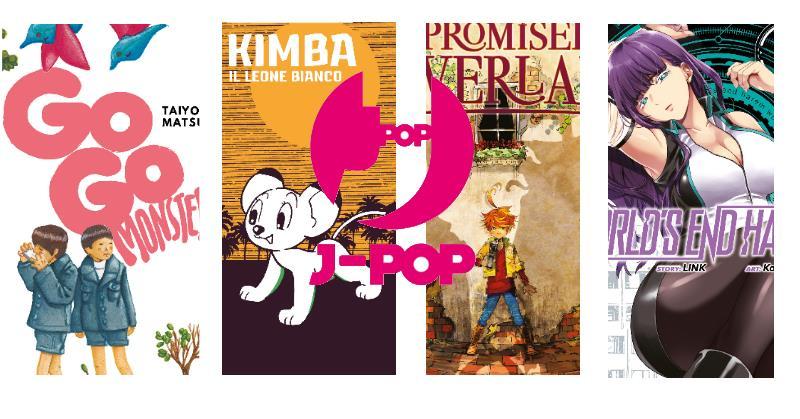 "I manga di luglio da J-Pop: ""Kimba"" di Tezuka, Cyborg 009 e altri"