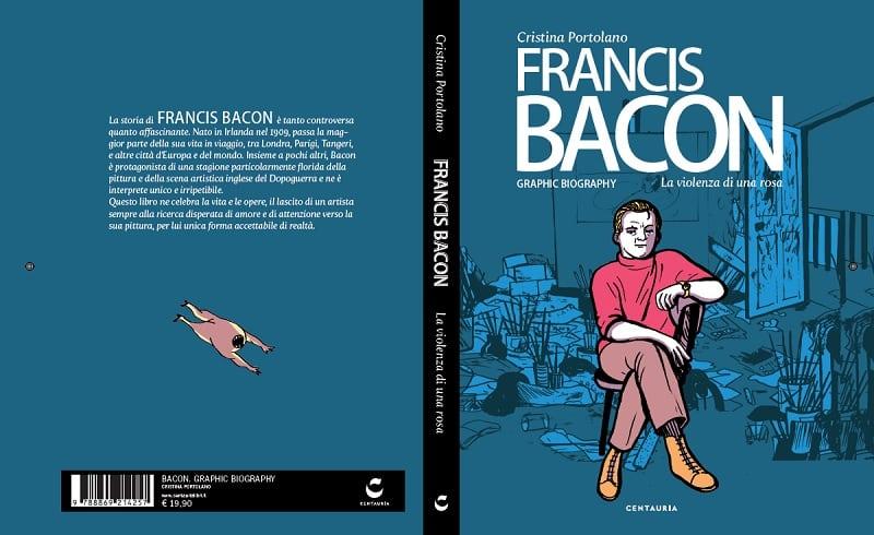 """Centauria Libri pubblica """"Francis Bacon"""" di Cristina Portolano"""