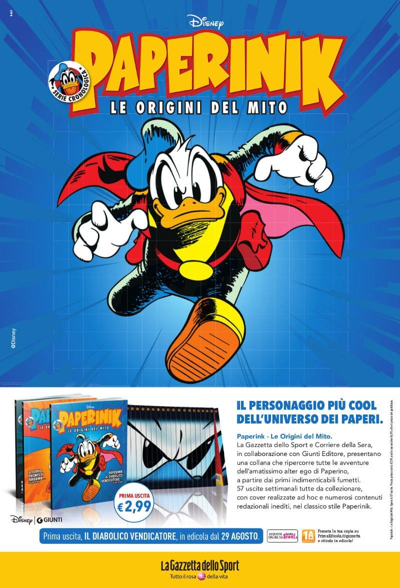 RCS Gazzetta Pagina Paperinik Versione A 1a Uscita 275x404