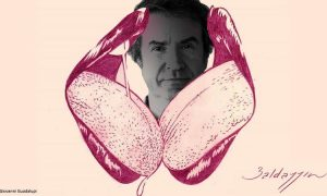 Roberto Baldazzini, il fabbricatore di capezzoli per l'erotismo in latex
