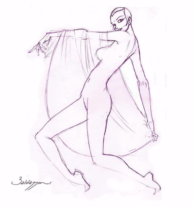 Roberto Baldazzini, il fabbricatore di capezzoli per l'erotismo in latex_Lo Spazio nudo