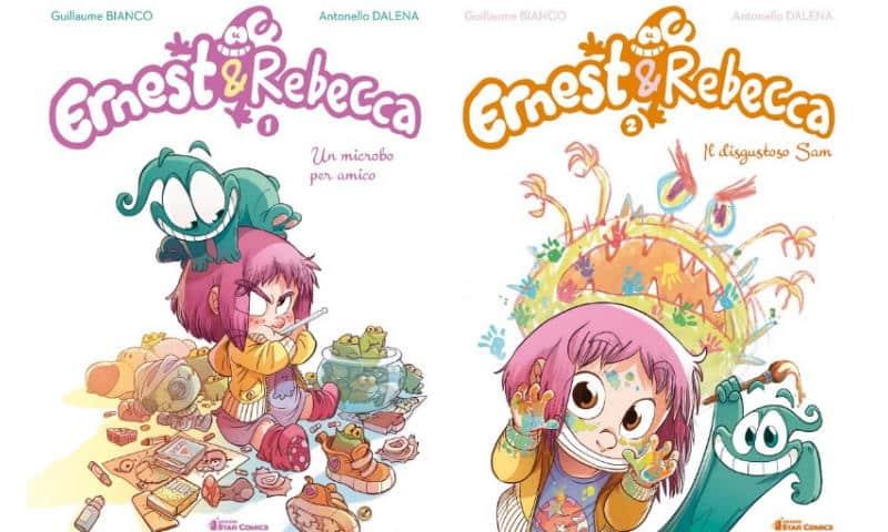 """Da Star Comics: """"Ernest & Rebecca"""" di Guillaume Bianco e Antonello Dalena"""