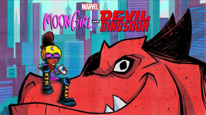 Disney Channel ordina serie animata Marvel's Moon Girl and Devil Dinosaur