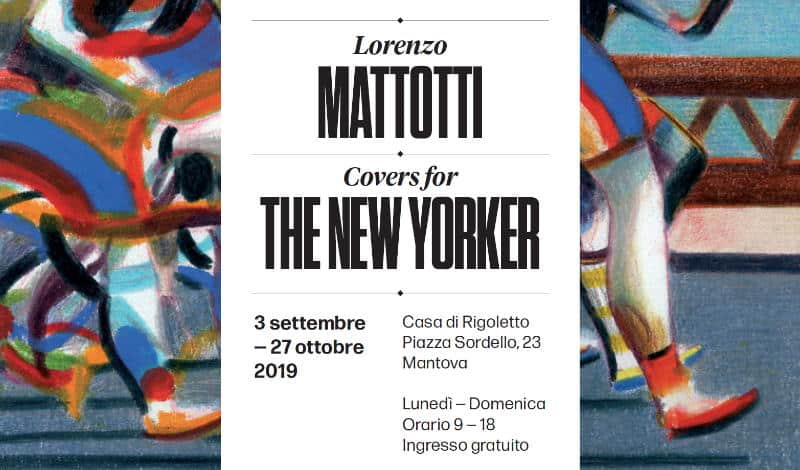 Lorenzo Mattotti, le sue illustrazioni per The New Yorker in mostra