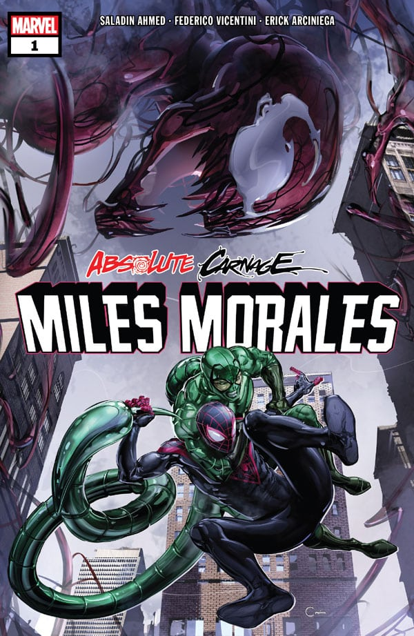 Absolute Carnage Miles Morales 1