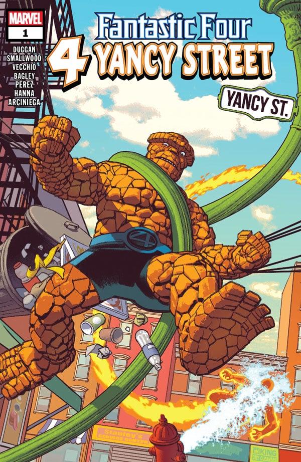Fantastic Four 4 Yancy Street 1