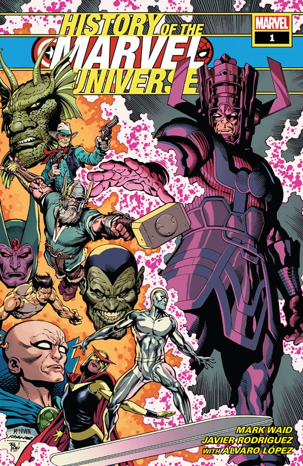 History Of The Marvel Universe 1