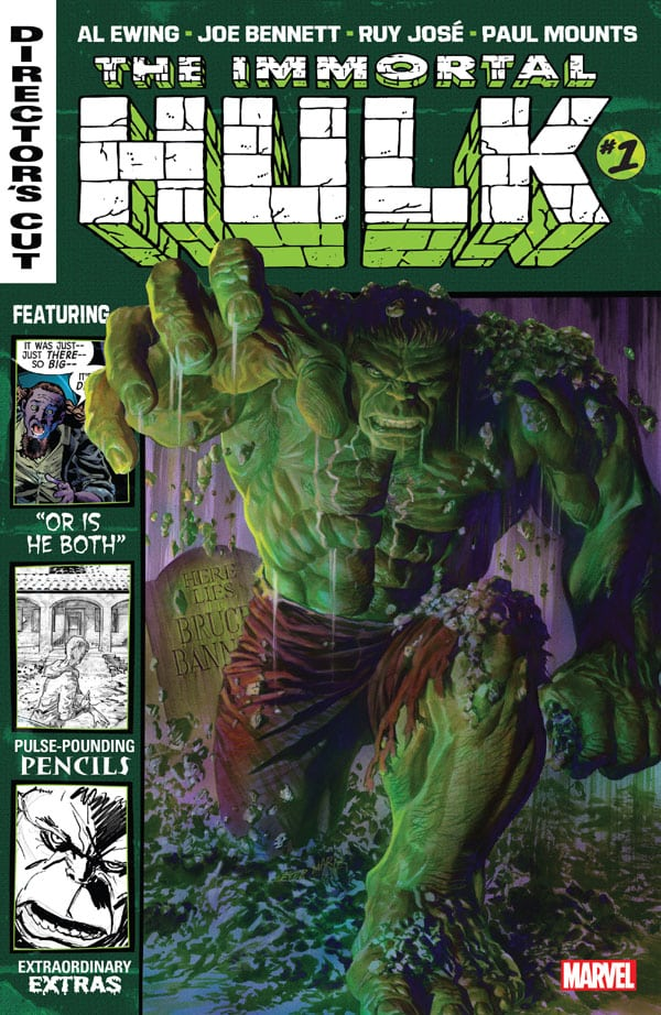 Immortal Hulk Director's Cut 1