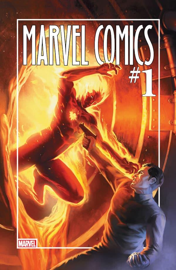 Marvel Comics 001 80th Anniversary Edition