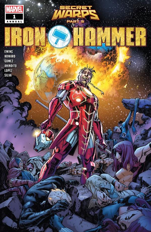Secret Warps Iron Hammer Annual 1