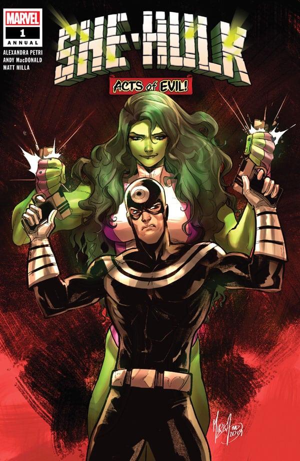 She Hulk Annual 1