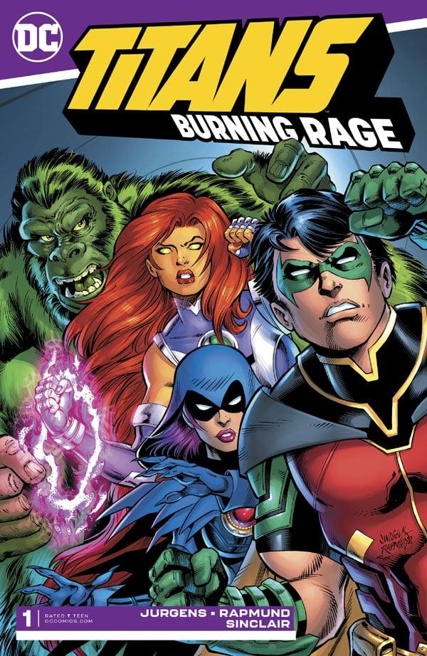 Titans Burning Rage 1