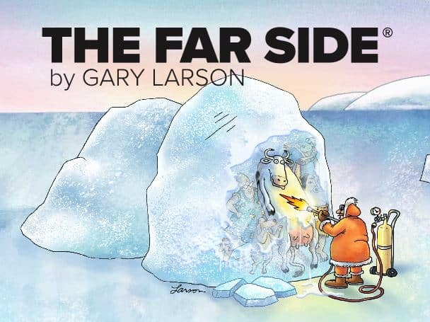 Il ritorno di The Far Side di Gary Larson