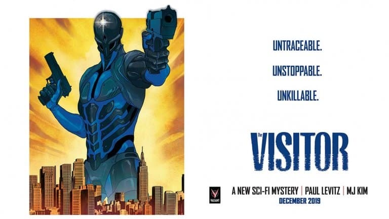 Valiant lancia miniserie The Visitor
