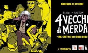 4 vecchi di merda fumetti e popcorn