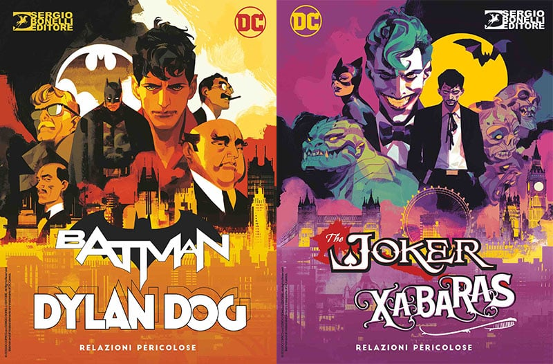 Arriva il crossover Dylan Dog & Batman