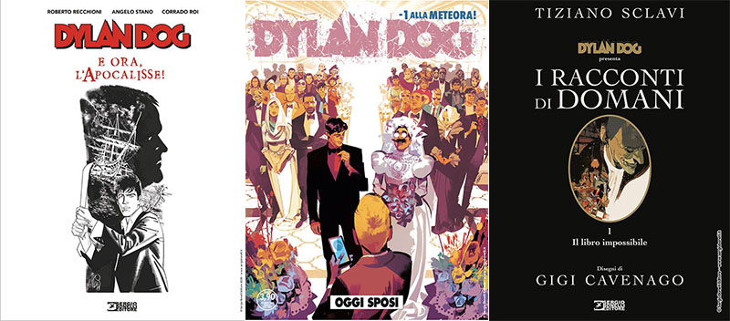 Le novità di Dylan Dog a Lucca Comics 2019