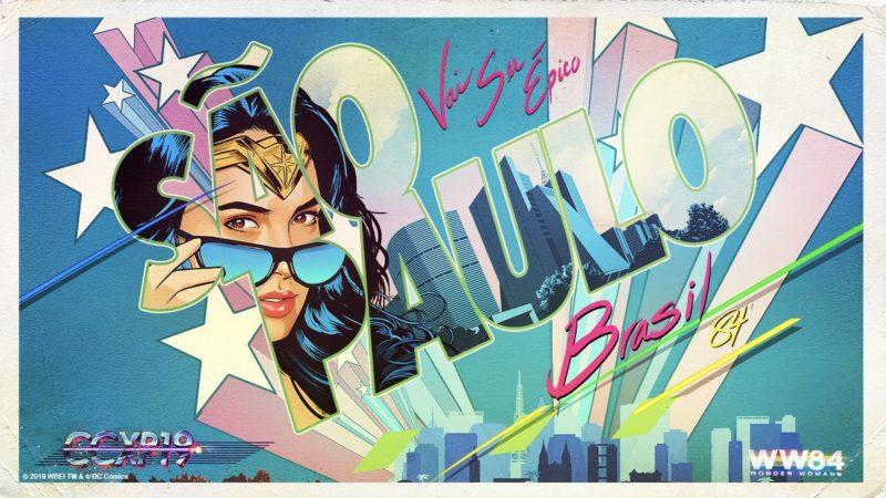 Wonder Woman 1984 sarà presentato alla Comic-Con di San Paolo