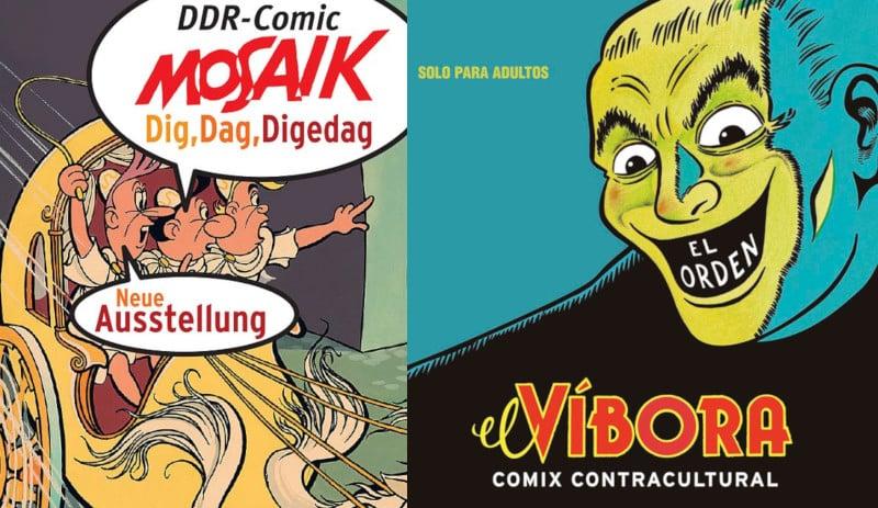 Paese che vai…: tre mostre di fumetti in giro per l'Europa