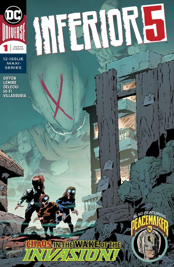 Inferior-Five-1_First Issue