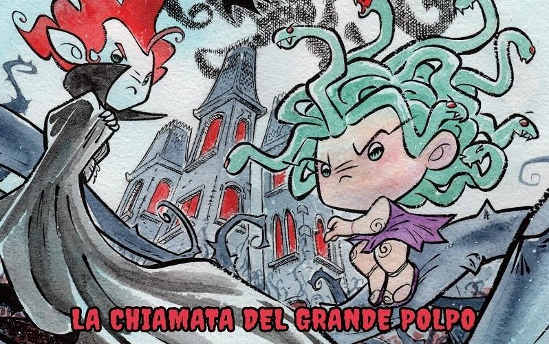 Anteprima Bugs Comics: MoFtri – La chiamata del Grande Polpo (Liverano Moscoviti, Farina)