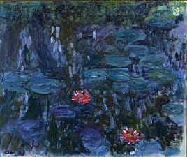 Monet-Nymphéas_reflets_de_saule_1916-19_Recensioni